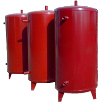 Surge tanks for fluids storage and issuing