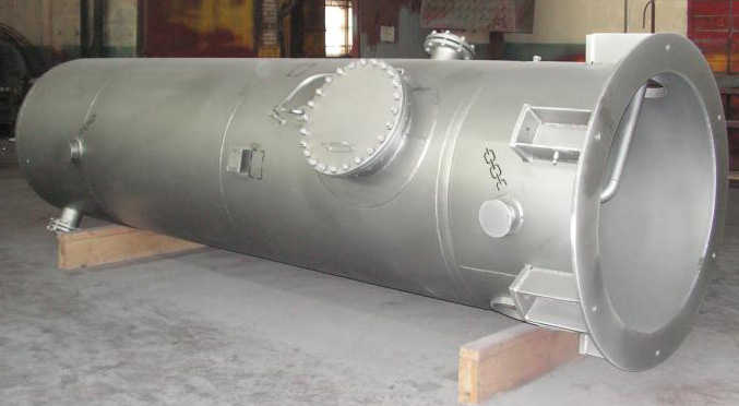 Gas receiver produced by the Saratov Reservoir Plant