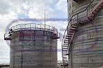 Vertical tanks erection in Ulyanovsk Region
